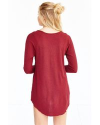 Truly Madly Deeply | Red Myles Thermal Top | Lyst