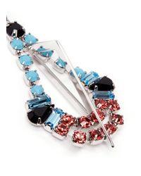 Joomi Lim - Multicolor 'High Society' Crystal Chandelier Earrings - Lyst