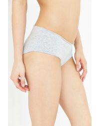 Urban Outfitters - Gray Susie Rolled Waistband Hipster - Lyst