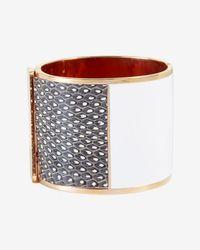 Sarah Magid | Metallic Montparnasse Colorblock Hinge Cuff | Lyst