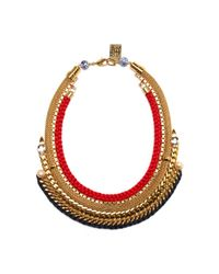 Lizzie Fortunato | Metallic Fast Lane Necklace | Lyst