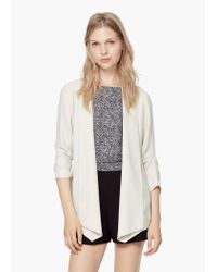 Mango | Natural Flowy Jacket | Lyst