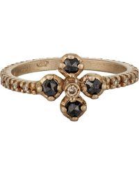 Anaconda - Metallic Quadrifoglio Ring - Lyst