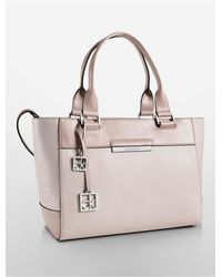 Calvin Klein | White Label Valerie City Shopper Tote | Lyst
