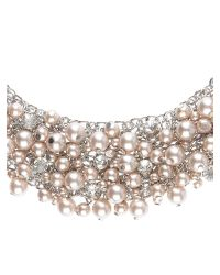 Jacques Vert - Metallic Pearl Scatter Necklace - Lyst