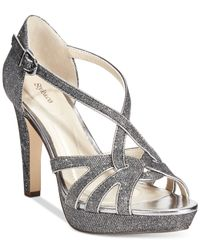 Style & Co. | Metallic Selinaa Evening Pumps, Only At Macy's | Lyst