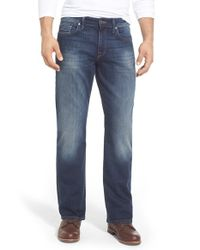 Mavi Jeans - Blue 'matt' Relaxed Fit Jeans for Men - Lyst