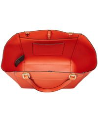 Lauren by Ralph Lauren - Orange Lexington Shopper - Lyst