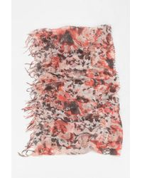 Urban Outfitters - Multicolor Shredded Dye Eternity Scarf - Lyst