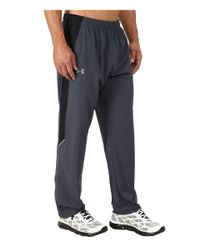 Under Armour - Gray Ua Launch Stretch Woven Pant for Men - Lyst