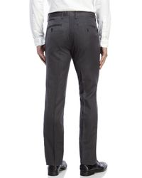 English Laundry | Gray Finchley Flat Front Trousers for Men | Lyst