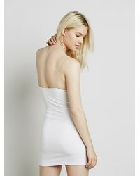 Free People | Pink Skinny Strap Bodycon | Lyst