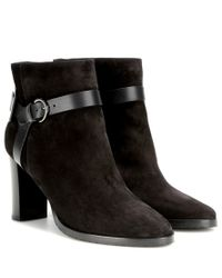 Jimmy Choo | Brown Hose 80 Suede Ankle Boots | Lyst
