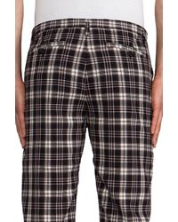 Marc By Marc Jacobs | Bromley Plaid Trouser in Brown for Men | Lyst