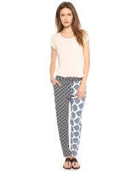 Tigerlily - Multicolor Cote Pants Patchwork - Lyst