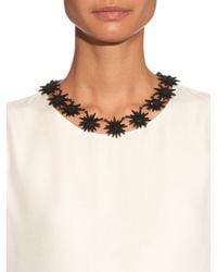 Lulu Frost - Black Radiant Necklace - Lyst
