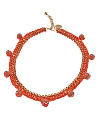 Venessa Arizaga | Orange '1979' Necklace | Lyst