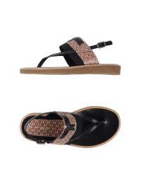 Dries Van Noten - Red Thong Sandal for Men - Lyst