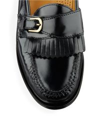 Cole Haan | Black Pinch Buckle Loafers for Men | Lyst