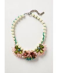 Rada' | Multicolor Lily Bib Necklace | Lyst