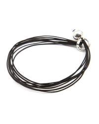 Gilbert Gilbert | Ani 22 Black Bracelet for Men | Lyst