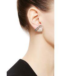 Nak Armstrong - Blue Aquamarine Ruffled Ear Jackets - Lyst