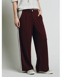 Free People | Purple Womens Sporty Knit Pant | Lyst