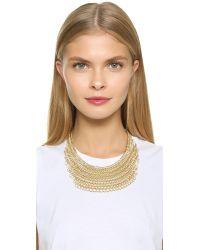 Adia Kibur | Metallic Sadie Necklace - Gold | Lyst