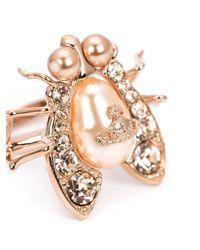 Vivienne Westwood - Pink 'gillian' Ring - Lyst