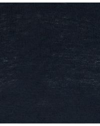 Nudie Jeans - Blue Navy Vladimir Cotton-blend Knitted Jumper for Men - Lyst