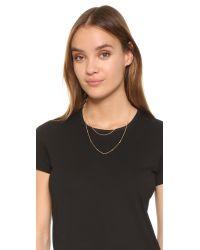Gorjana - Metallic Chloe Mini Layer Necklace - Lyst