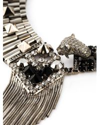 Iosselliani | Metallic 'Metal Instinct' Necklace | Lyst
