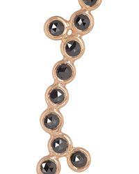 Lito - Metallic Yves 18karat Rose Gold Diamond Earrings - Lyst