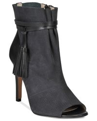 French Connection - Black Quinby Booties - Lyst