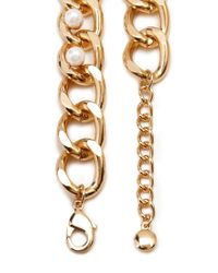 Forever 21 - Metallic Romantic Rebel Chain Necklace - Lyst