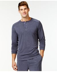 Weatherproof | Blue 32 Degrees By Heat Comfort Long-sleeve Henley for Men | Lyst