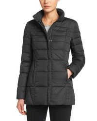 BOSS Black Down Jacket In Water-repellent Fabric: 'pheo'