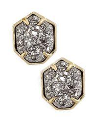 Kendra Scott | Metallic 'taylor' Stud Earrings | Lyst