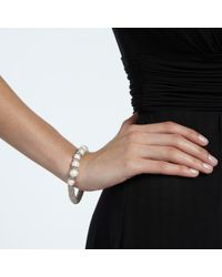 John Lewis | White Effervescence Faux Pearl Bracelet | Lyst
