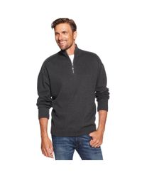 Tommy Bahama | Gray Flip Side Pro Half Zip Reversible Sweater for Men | Lyst