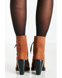 Kelsi Dagger Brooklyn | Brown Berlin Lace-up Heeled Boot | Lyst