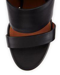 Givenchy - Black Sara Chunky Anklewrap Sandal - Lyst