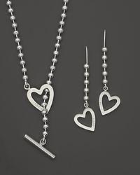 Gucci | Metallic terling Silver Toggle Heart Box Set | Lyst