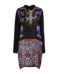 Space Style Concept - Black Short Dress - Lyst