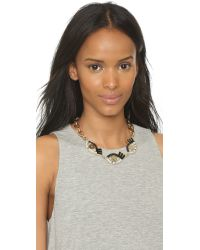 Lulu Frost | Metallic Lumen Necklace - Black Multi | Lyst
