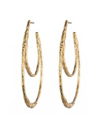 Alexis Bittar | Metallic Phoenix Crystal Embellished Rocky Hoop You Might Also Like | Lyst