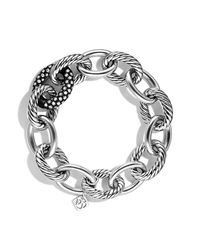 David Yurman | Metallic Oval Ultra Large Link Bracelet | Lyst