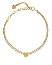 Dinny Hall | Metallic Gold Vermeil Bijou Heart Chain Bracelet | Lyst