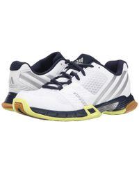 Adidas | White Volley Team 3 | Lyst