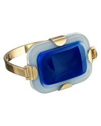 Marc By Marc Jacobs - Blue Kandi Gem Cuff Bracelet - Lyst